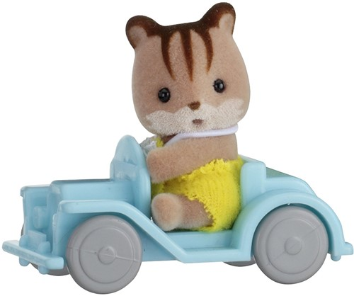 Sylvanian Families Baby Carry Case (Squirrel on Car)