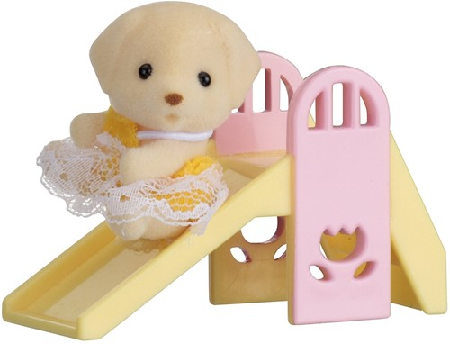Sylvanian Families Baby Carry Case (Dog on Slide)