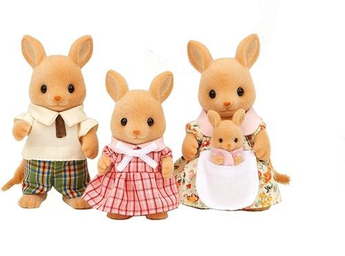 Sylvanian Families Kangaroo Family (EURO version: Short nose)