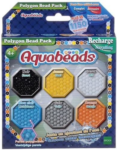 Aquabeads Polygon bead pack ( donkerblauw)