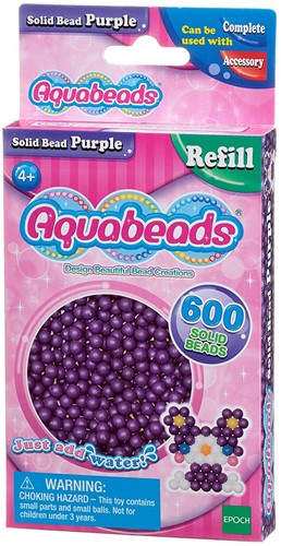 Aquabeads paarse parels