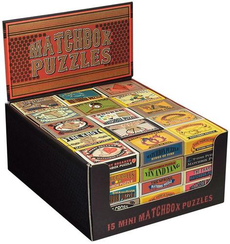 Matchbox puzzles mini