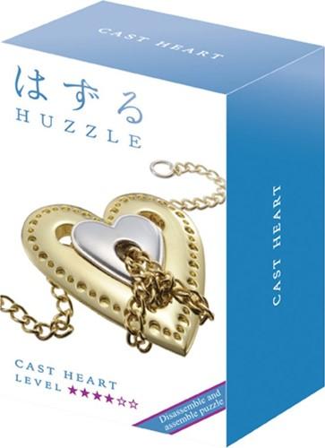 Huzzle Cast Puzzle - Heart****