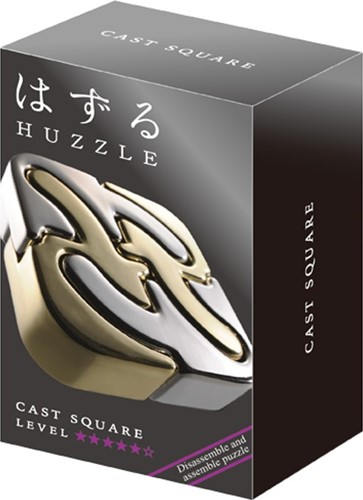 Huzzle Cast Puzzle - Square*****