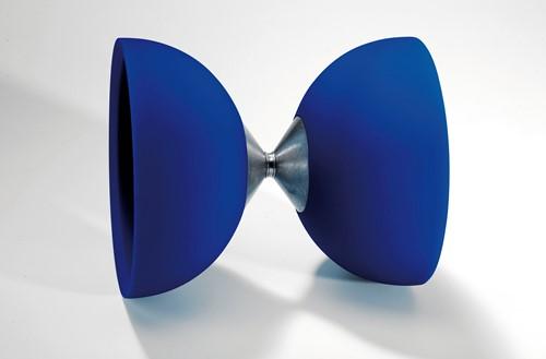 Acrobat 105 Rubber Diabolo Blue