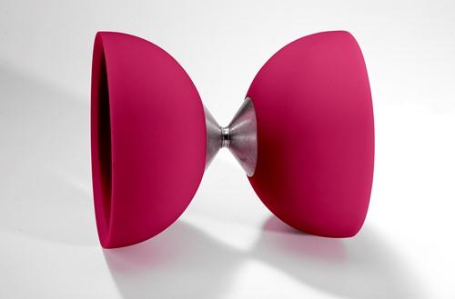 Acrobat 105 Rubber Diabolo Pink