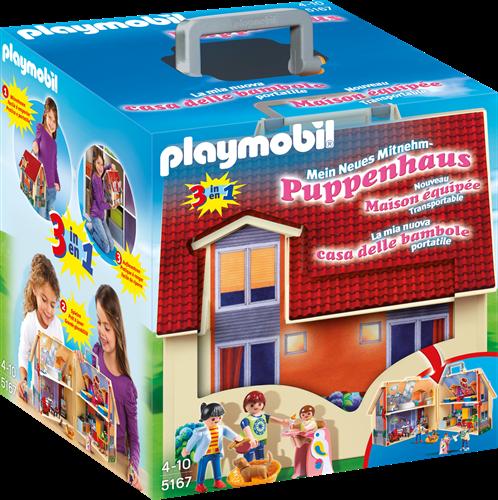 Playmobil Take Along Modern Doll House dollhouse