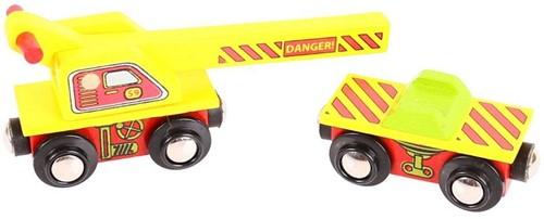 Bigjigs Crane Wagon (4)