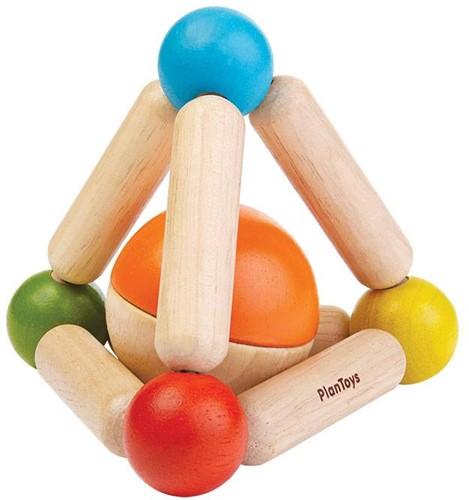 Plan Toys Driehoek rammelaar