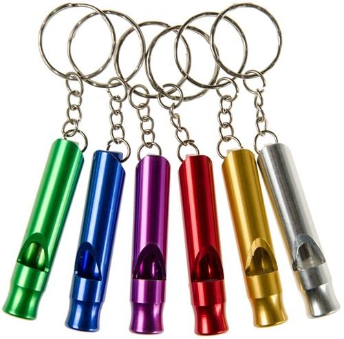 Planet Happy  kleinspeelgoed Sleutelhanger fluit metaal