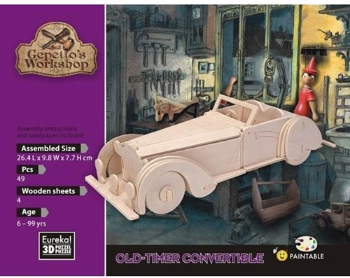 Gepetto's Workshop old-timer convertible