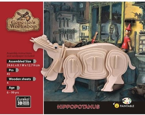 Gepetto's Workshop Hippopotamus