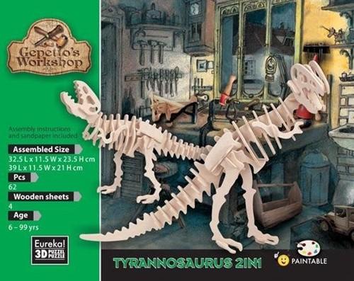 Gepetto's Workshop Tyrannosaurus 2in1