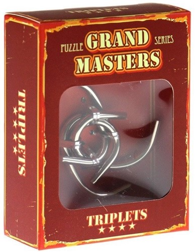 Eureka puzzel Grand Master Puzzle Triplets**** (Red)