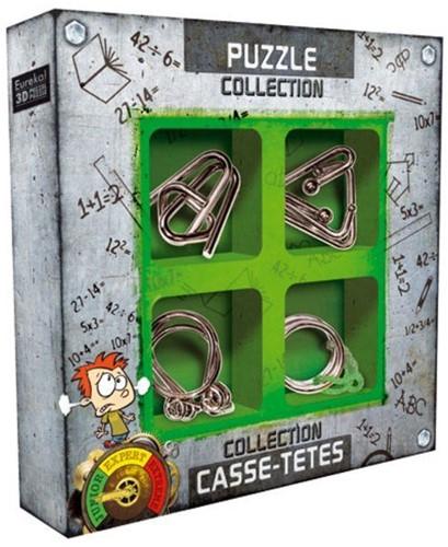 Eureka Puzzle Collection - Junior Metal Puzzles collection