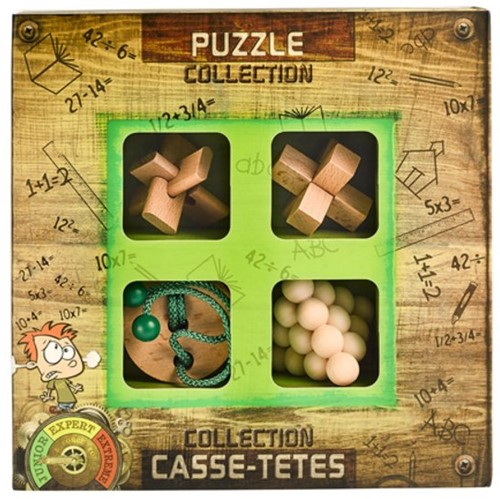 Eureka Puzzle Collection - Junior Wooden Puzzles collection