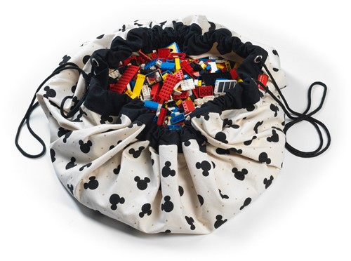 Play&Go Disney - Mickey Toy storage bag Beige,Black Wall-mounted