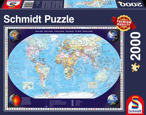 Schmidt Onze wereld, 2000 stukjes
