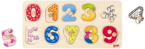 Goki 57480 Shape puzzle 10 pc(s)