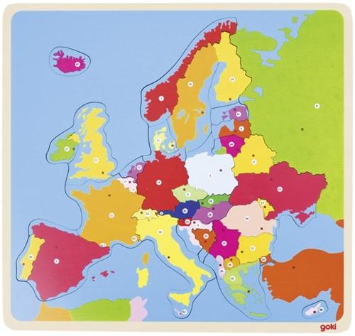 Goki Puzzle, Europe