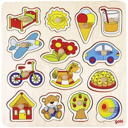 Goki 57576 Shape puzzle 14 pc(s)