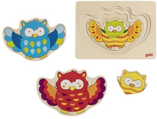 Goki Puzzle owl