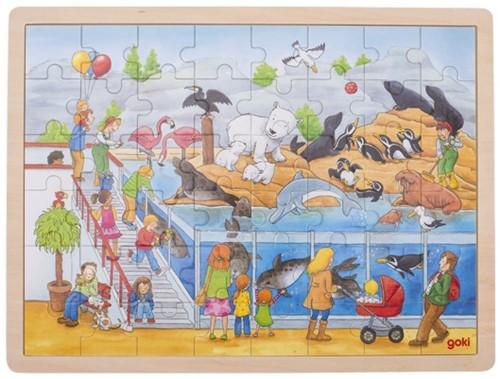 Goki 57744 puzzle Jigsaw puzzle 48 pc(s)