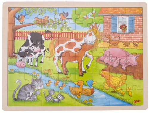 Goki 57745 puzzle Jigsaw puzzle 48 pc(s)
