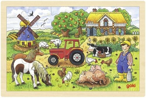 Goki 57891 Frame puzzle 24 pc(s)