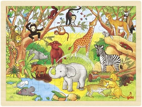 Goki 57892 puzzle Jigsaw puzzle 48 pc(s)