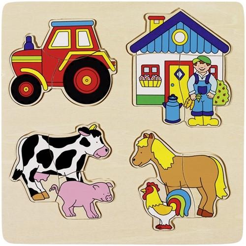 Goki Farm, inlay puzzle
