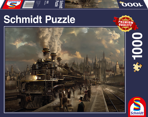 Schmidt Locomotive, 1000 stukjes