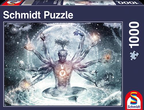 Schmidt Droom in het universum, 1000 stukjes