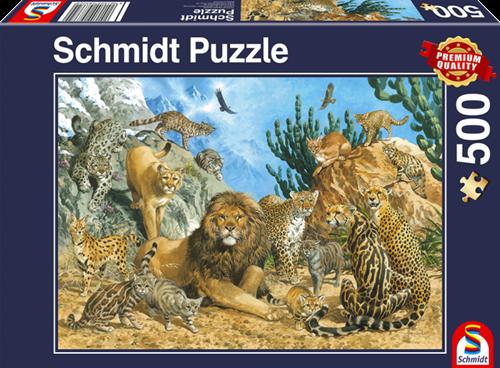 Schmidt Grote katten, 500 stukjes
