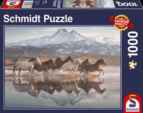 Schmidt Paarden in Cappadocië, 1000 stukjes