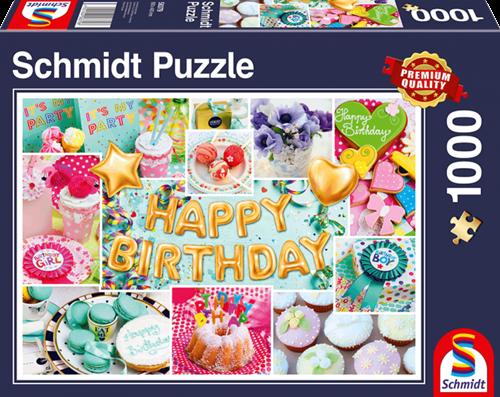 Schmidt Happy Birthday! 1000 stukjes