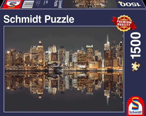 Schmidt Skyline van New York, 1000 stukjes
