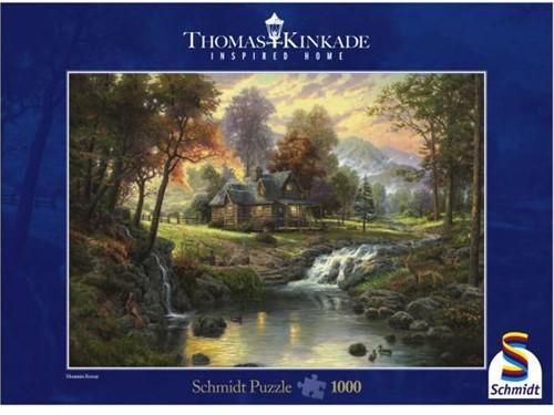 Schmidt Spiele Mountain Retreat Jigsaw puzzle 1000 pc(s)