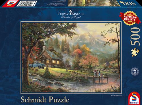 Schmidt Peaceful Moments, 500 stukjes