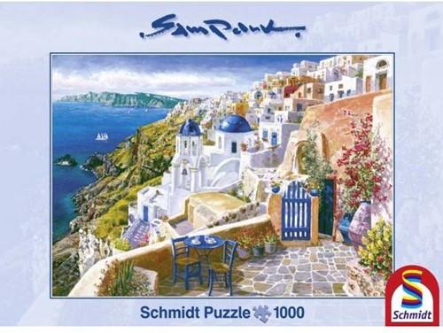 Schmidt Blik op Santorini, 1000 stukjes
