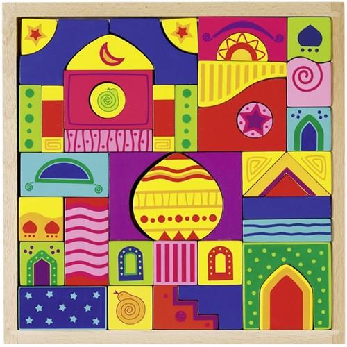 Goki 58644 Block puzzle 42 pc(s)