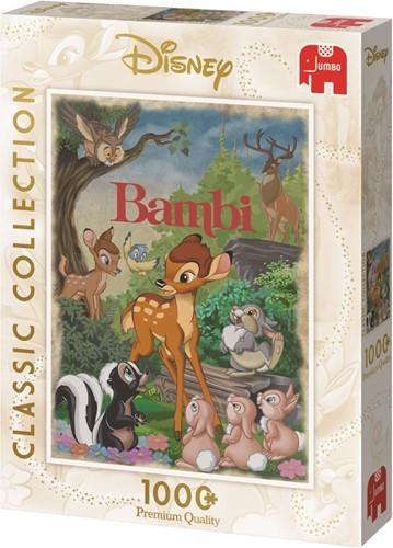 Disney Bambi Movie Poster 1000 pcs Jigsaw puzzle 1000 pc(s)