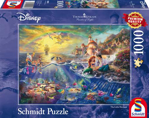 Schmidt Disney Kleine Zeemeermin, Ariël, 1000 stukjes
