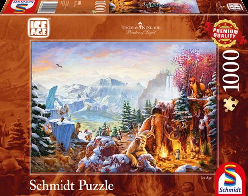 Schmidt Disney Ice Age, 1000 stukjes