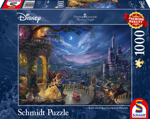 Schmidt Disney Beauty and the Beast, 1000 stukjes