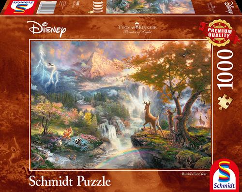 Schmidt Disney Bambi, 1000 stukjes