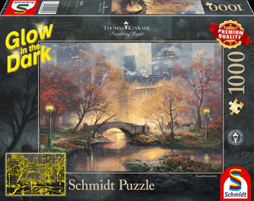 Schmidt Autumn in Central Park,1000 stukjes