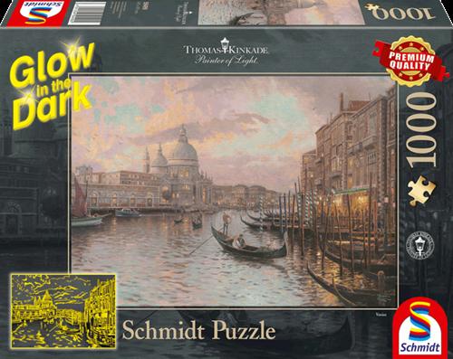 Schmidt In de  straten van Venetië, 1000 stukjes