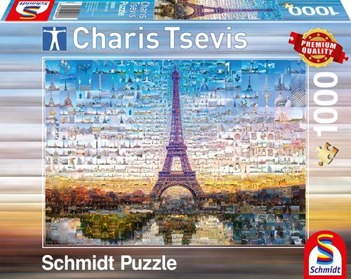 Schmidt Parijs, 1000 stukjes