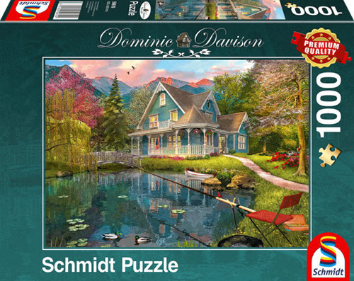 Schmidt Rusthuis aan het meer, 1000 stukjes